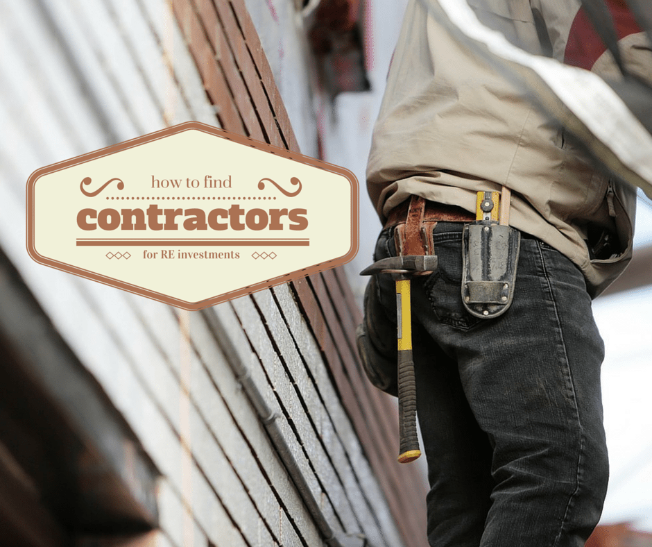 How to Find Contractors for Your Real Estate Investments - Atlanta Hard Money Loans